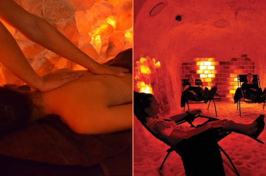 Aromatherapy Or Magnesium Massage 90 Minutes And Salt Cave Experience