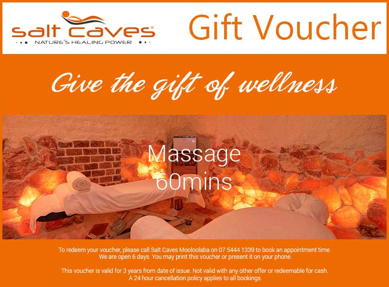 Massage Gift Voucher | 60mins