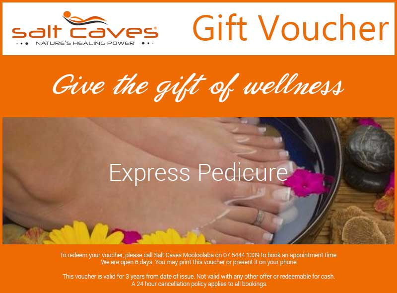 Salt Caves Mooloolaba – Express Pedicure