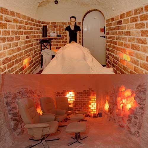 Massage & Salt Cave Package