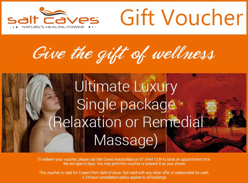 Ultimate Luxury Single Package (Relaxation Or Remedial Massage)